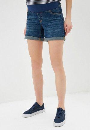 Шорты джинсовые Dorothy Perkins Maternity. Цвет: синий