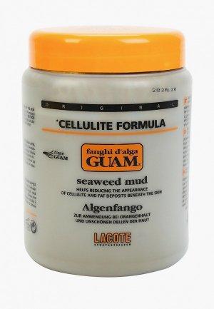 Маска для тела Guam антицеллюлитная, FANGHI D ALGA, 1000 гр. Цвет: белый