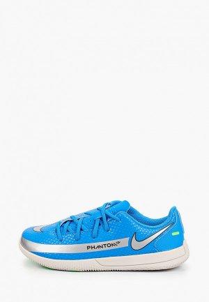 Бутсы зальные Nike JR PHANTOM GT CLUB IC. Цвет: синий