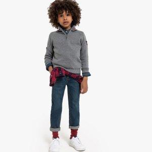 Пуловер La Redoute. Цвет: серый