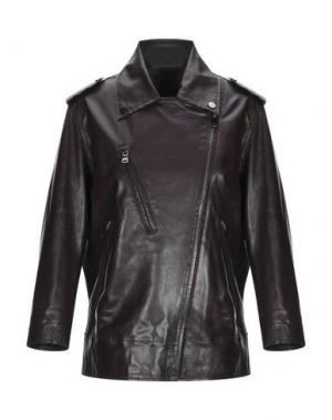 Куртка ENES. Цвет: баклажанный