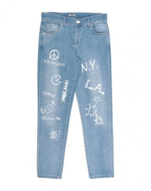 Джинсовые брюки GRANT GARÇON. Цвет: синий