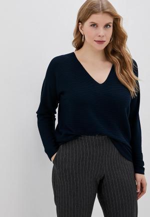 Пуловер Persona by Marina Rinaldi AGRESTE. Цвет: синий