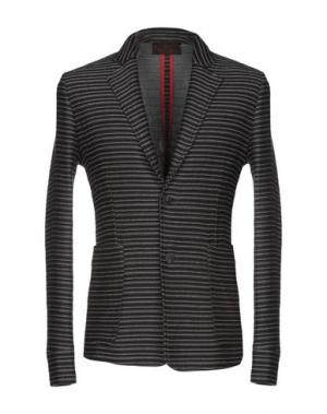 Пиджак HōSIO. Цвет: серый