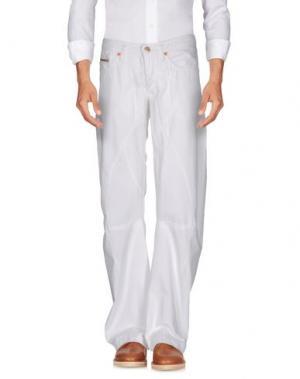 Повседневные брюки ANDREW MACKENZIE. Цвет: белый