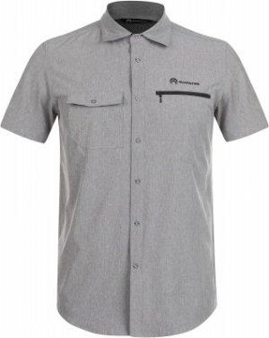 Рубашка с коротким рукавом мужская , размер 56 Outventure. Цвет: серый