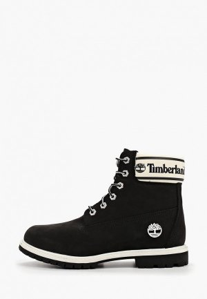 Тимберленды Timberland 6in Premium Boot. Цвет: черный