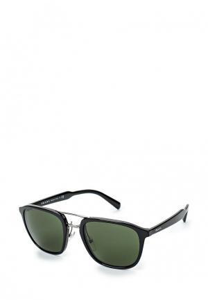 Очки солнцезащитные Prada PR 12TS 1AB1I0. Цвет: черный