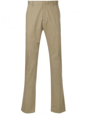 Классические брюки-чинос Cerruti 1881. Цвет: нейтральные цвета