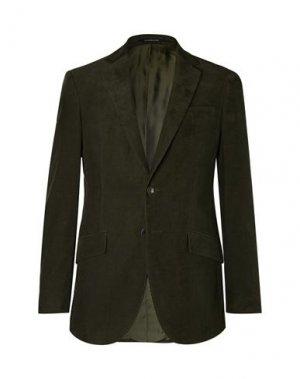 Пиджак RICHARD JAMES. Цвет: темно-зеленый