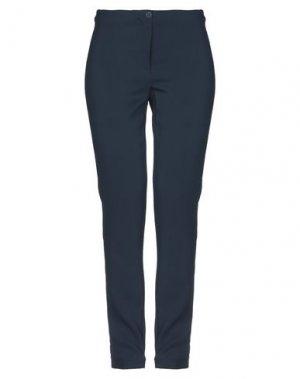 Повседневные брюки BEATRICE. Цвет: темно-синий