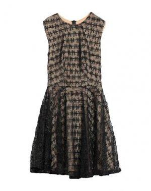 Короткое платье ISABEL GARCIA. Цвет: черный