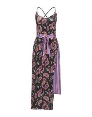 Длинное платье EMMA & GAIA. Цвет: черный