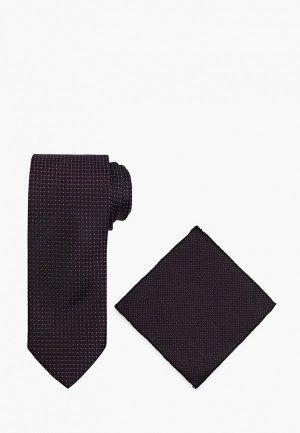 Галстук и платок Ir.Lush. Цвет: фиолетовый