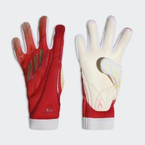 Вратарские перчатки X Pro Performance adidas. Цвет: красный