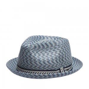 Шляпа хомбург BAILEY. Цвет: голубой