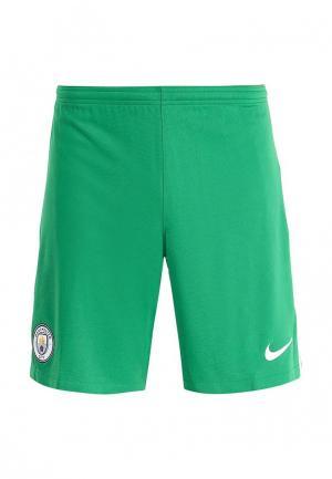 Шорты спортивные Nike MCFC M NK BRT STAD SHORT HAG. Цвет: зеленый