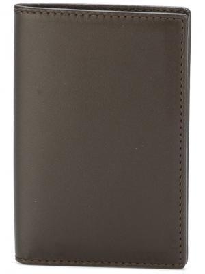 Классический бумажник Comme Des Garçons Wallet. Цвет: коричневый