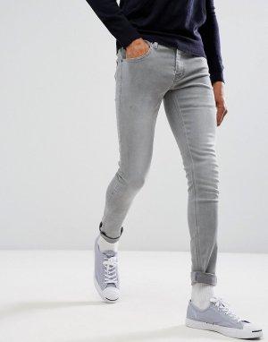 Супероблегающие джинсы -Серый French Connection