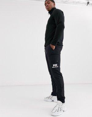 Черные джоггеры с логотипом Yu-Черный Helly Hansen