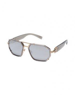 Солнечные очки VERSACE. Цвет: золотистый