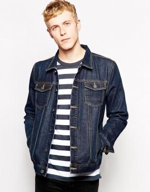 Джинсовая куртка French Connection. Цвет: синий