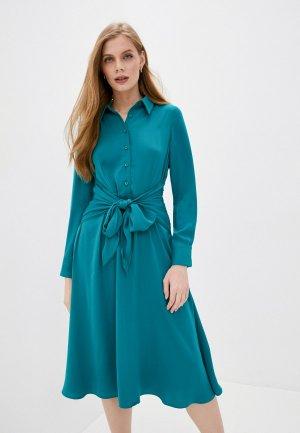 Платье Снежная Королева. Цвет: бирюзовый
