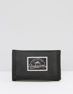 Бумажник Quicksilver Supplied Quiksilver. Цвет: черный