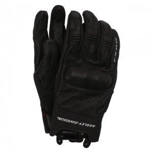 Кожаные перчатки FXRG Harley-Davidson. Цвет: чёрный