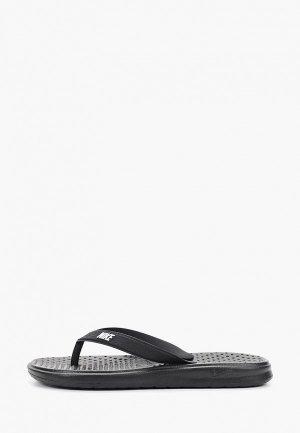 Сланцы Nike BOYS SOLAY (GS/PS) THONG. Цвет: черный