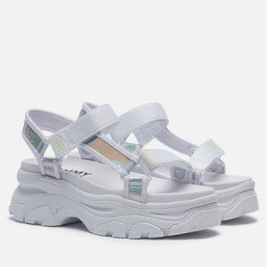 Женские сандалии Iridescent Hybrid Tommy Jeans. Цвет: белый