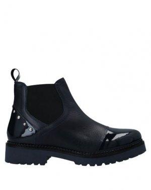 Полусапоги и высокие ботинки APEPAZZA. Цвет: темно-синий