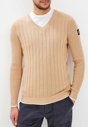 Пуловер Hopenlife. Цвет: бежевый