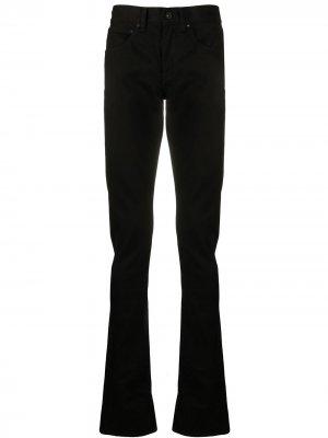 Расклешенные джинсы Diagonals Off-White. Цвет: черный