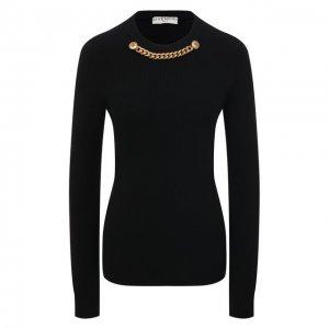 Пуловер из шерсти и кашемира Givenchy. Цвет: чёрный