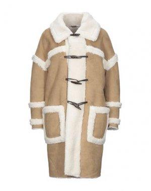 Пальто GLAMOROUS. Цвет: верблюжий