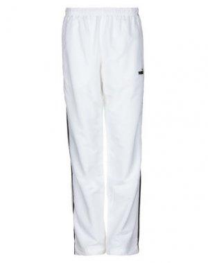 Повседневные брюки PUMA. Цвет: белый