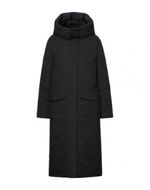 Легкое пальто ELVINE. Цвет: черный