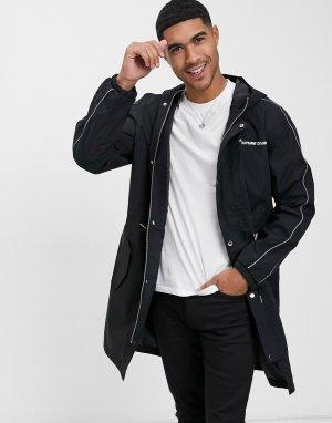 Куртка с логотипом -Черный цвет The Couture Club