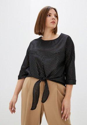 Блуза Olsi. Цвет: черный