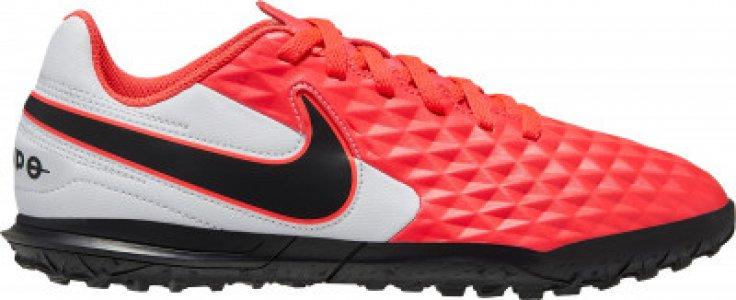 Бутсы для мальчиков Tiempo Legend TF, размер 37.5 Nike. Цвет: красный