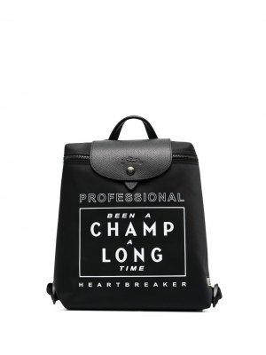 Рюкзак Le Pliage Collection EU Longchamp. Цвет: черный