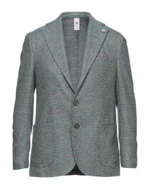 Пиджак GABARDINE. Цвет: зеленый