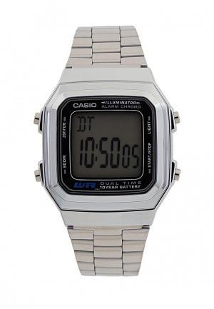 Часы Casio Collection A-178WA-1. Цвет: серебряный