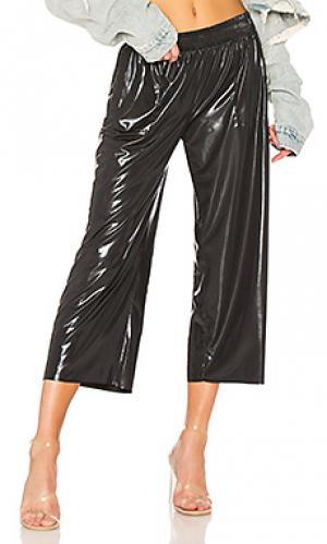Спортивные брюки Norma Kamali. Цвет: черный