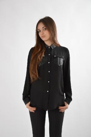 Рубашка Extasy. Цвет: черный