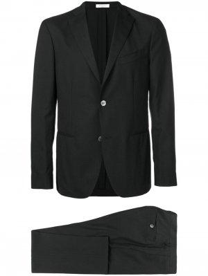 Классический костюм-двойка Boglioli. Цвет: черный