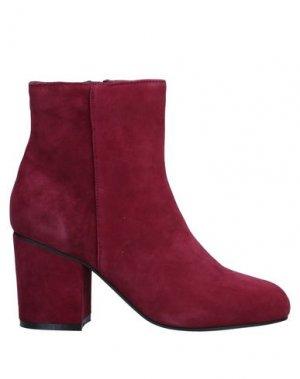 Полусапоги и высокие ботинки FORNARINA. Цвет: красно-коричневый
