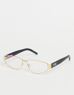 Солнцезащитные очки унисекс с затемненными стеклами 0006/S-Черный цвет Tommy Jeans