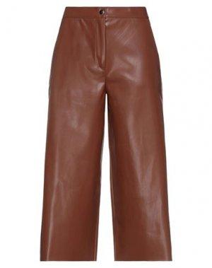 Укороченные брюки SEMICOUTURE. Цвет: коричневый